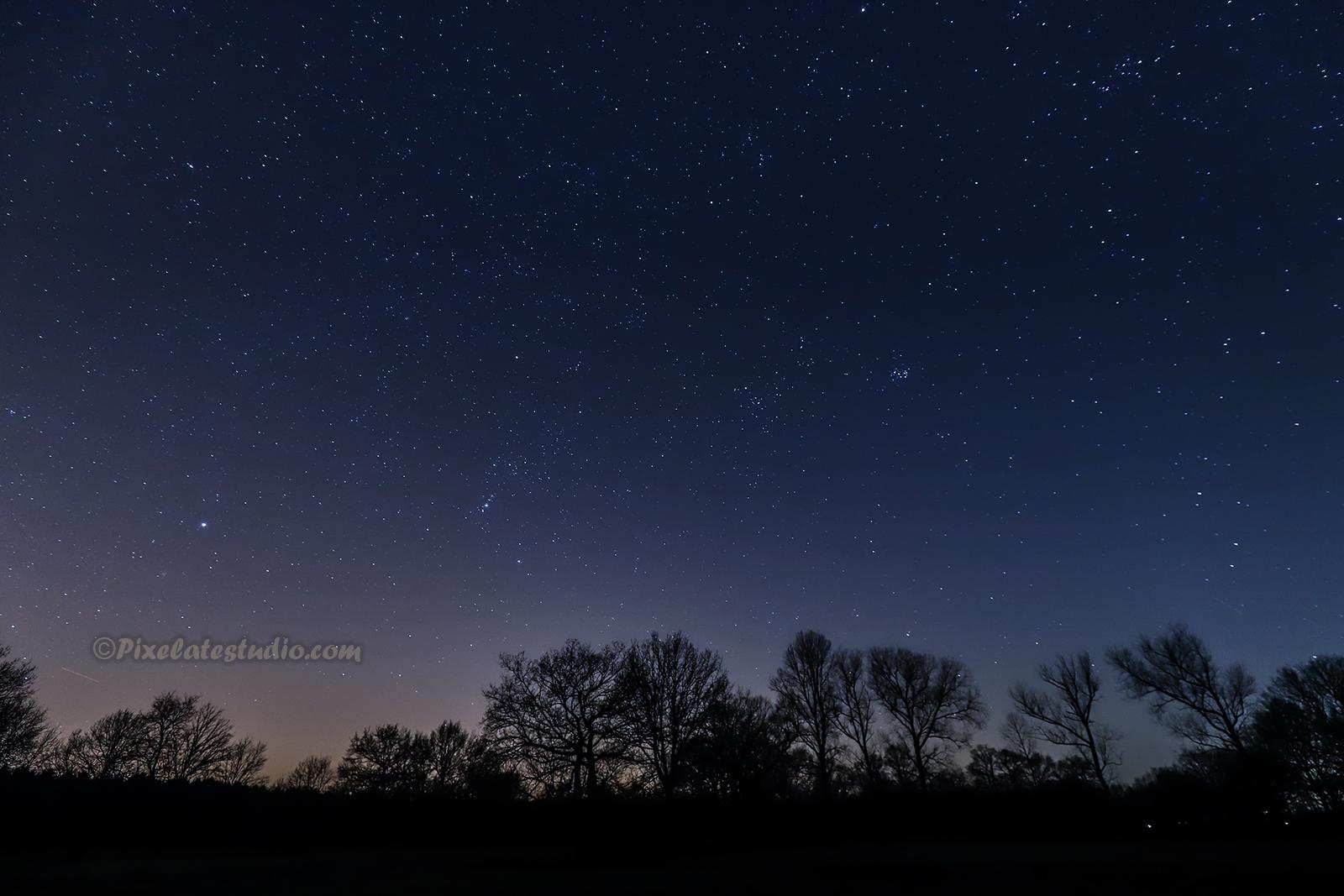 Foto, Sterren, sterrenhemel, heldere hemel
