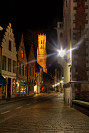Picture of Bruges by night