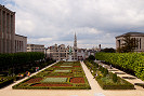 Picture of royal gardens, Brussels