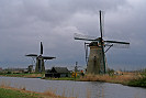 Windmill picture, Holland, Kinderdijk