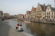 Pictures and photos of touristic sites in Gent, Belgium, pictures of the city Bruges