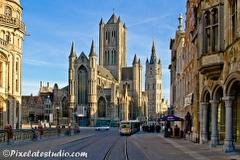 foto's van de stad Gent