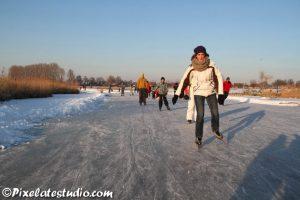 IJspret, schaatsen, nederland