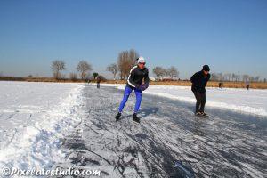 schaatsen op natuurijs