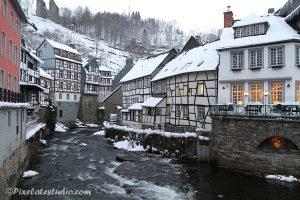 historisch plaatsje Monschau