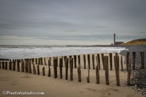 Strand en vuurtoren Westkapelle