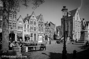 Jan van Eyck plein in Brugge