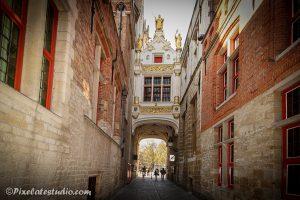 Blind ezel steegje Brugge