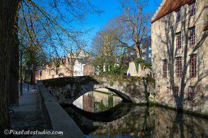 foto grachten Brugge