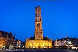 foto van Belfort Brugge