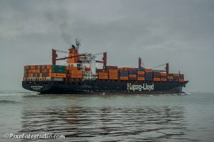 Groot containerschip