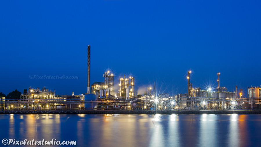 Industrie foto, Industrie van Zelzate