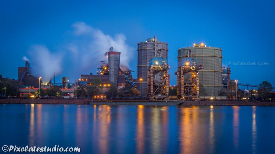 Industrie foto van Gent