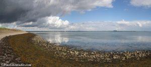 Panorama foto van de Oosterschelde , Zeeland