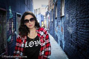 Foto gemaakt in het graffiti straatje