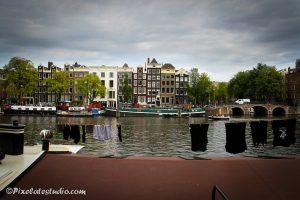 Typische foto van Amsterdam