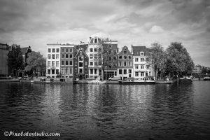 Herenhuizen aan de Amstel