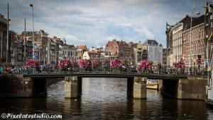 Foto grachten Amsterdam