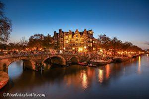 Jordaan Amsterdam, s'avonds genomen