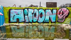 Graffitifoto IPhone