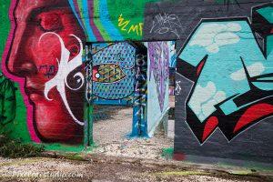 Graffiti mooie kleuren