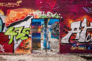 Graffiti in Dok - Noord, in Gent