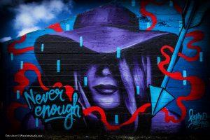 mooie graffiti foto