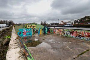 Locatie graffiti foto's