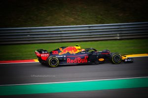 Mooie foto van Max Verstappen , Red Bull racing team, Formule 1 foto, F1
