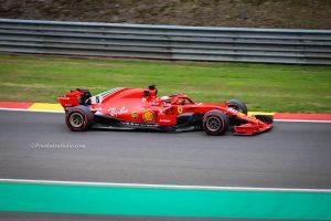 Sebastian Vettel, mooie foto, Ferrari, Formule 1