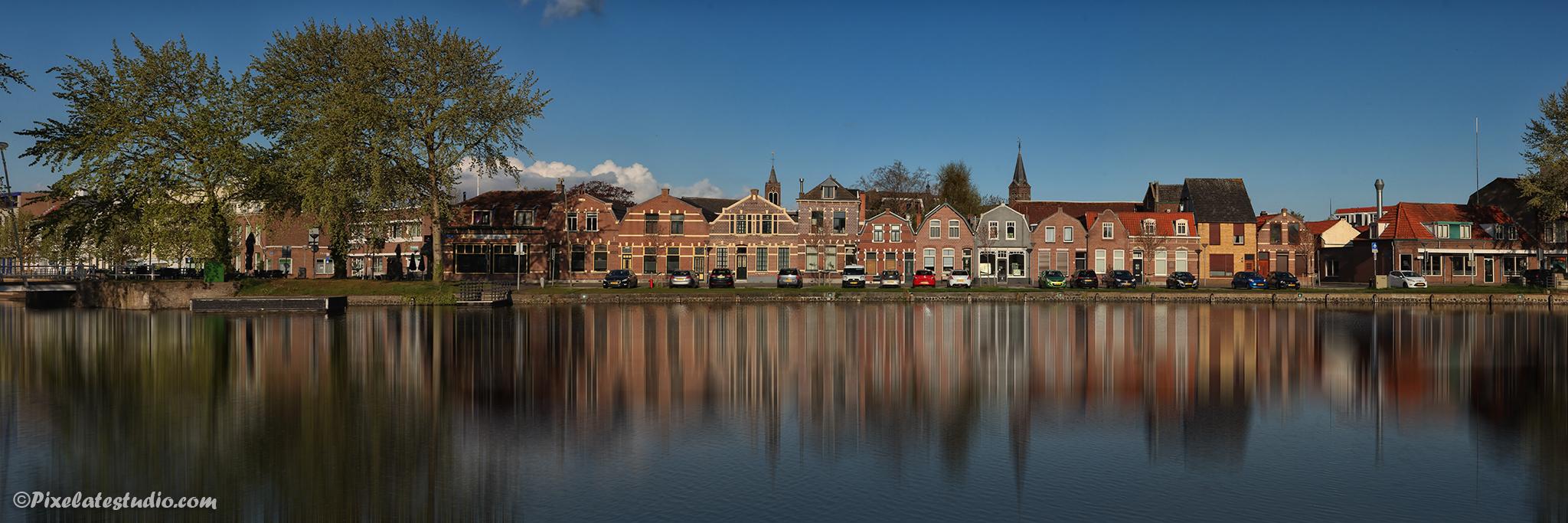 foto van De Blokken in Terneuzen , mooie foto van Terneuzen, panorama foto