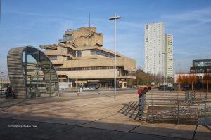 foto van het gemeentehuis van Terneuzen