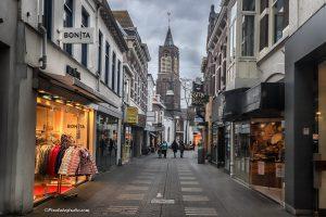 Foto van de Noordstraat Terneuzen