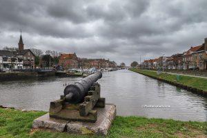 foto van de Westkade , Sas van Gent