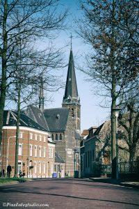 Foto zicht op Sas van Gent